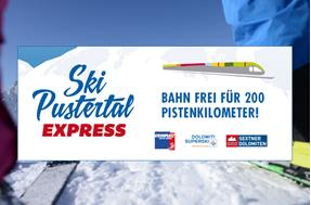 Ski Val Pusteria express train