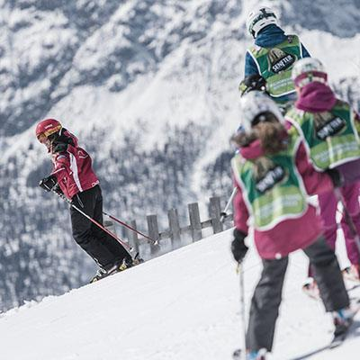 Ski lessons in South Tyrol