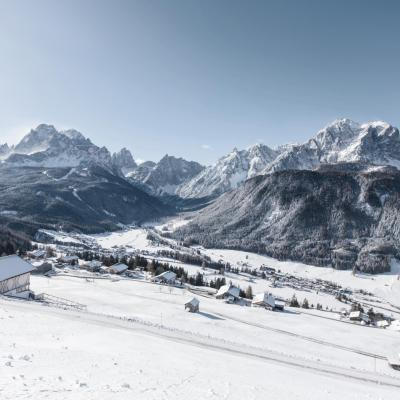 The cult ski resort in the Sesto Dolomites